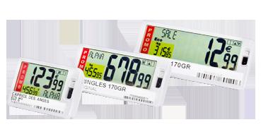 étiquettes SmartTag à affichage LCD